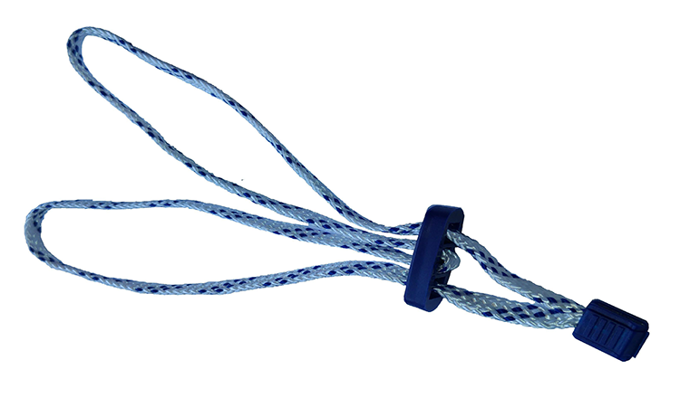 Disposable braided nylon cord handcuff # 5001